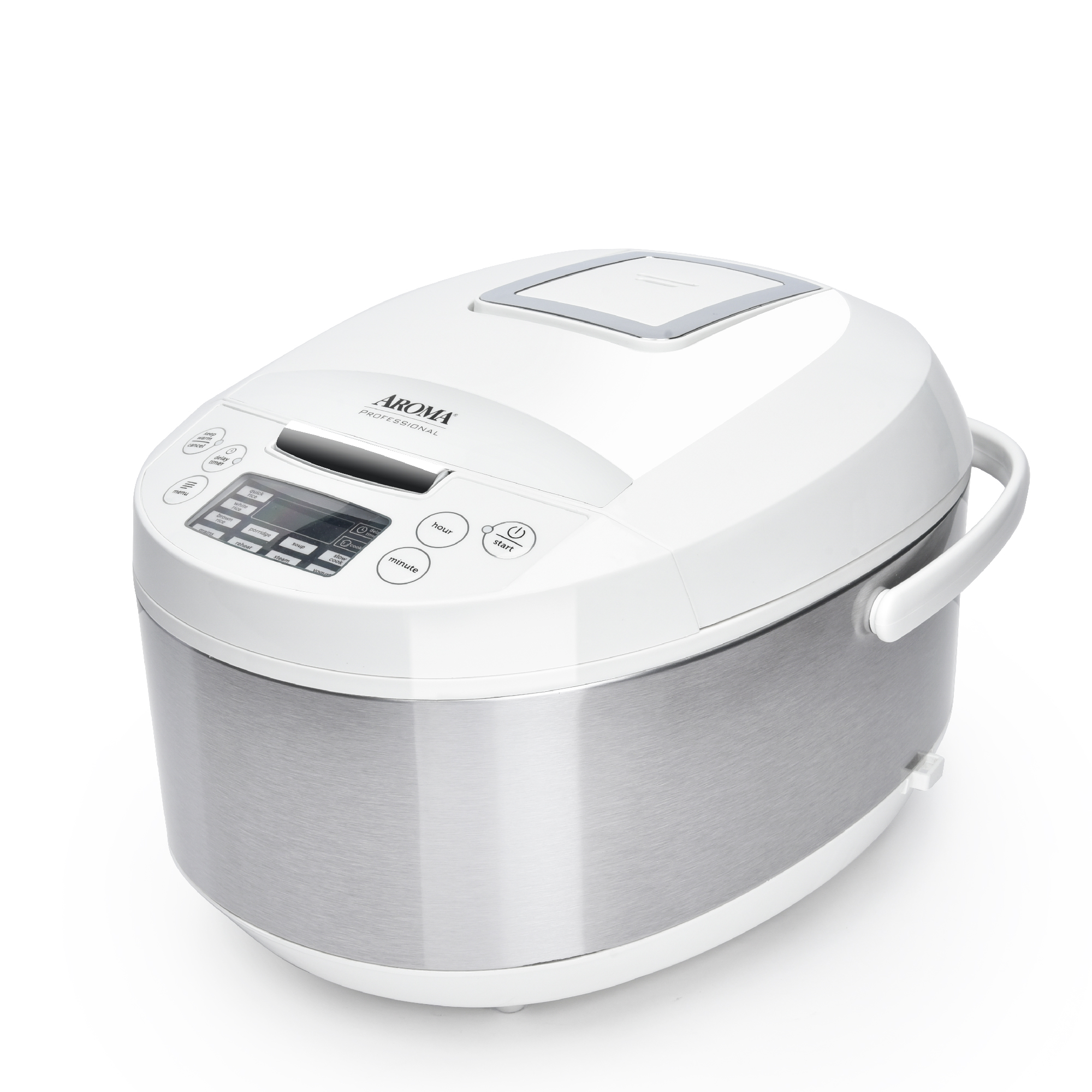 Aroma Professional  12-cup Digital Rice Cooker/Multicooker with Ceramic Inner Pot